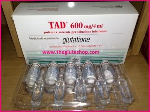 TAD Glutahione  Injectables